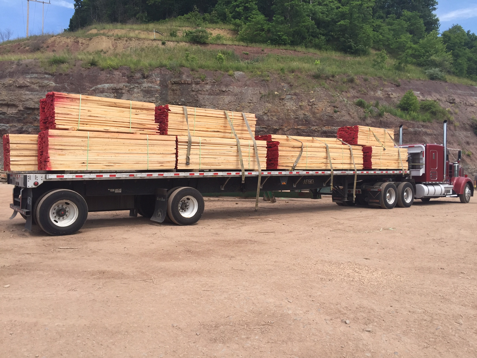 AFP Logs & Lumber, Inc. offers Industrial Lumber on an International Scale
